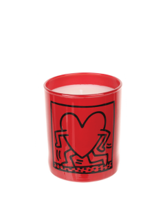 Keith Haring Perfumed Candle-Red Running Heart