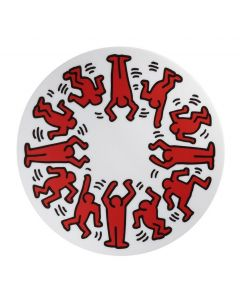 Keith Haring Porcelain Plate