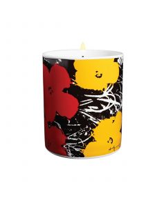 Andy Warhol Flowers Perfumed Candle