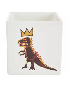 Jean-Michel Basquiat Gold Dragon Candle