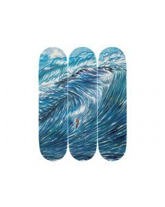 Raymond Pettibon Skateboard Triptych