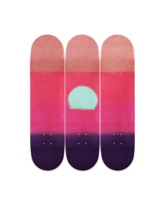 Andy Warhol Sunset Triptych Skateboards