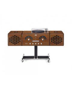 Brionvega Radiofonografo rr226 Fo-st Noce Canaletto