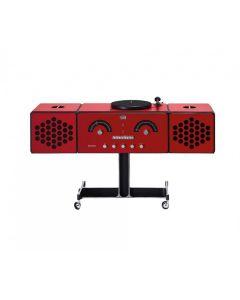 Brionvega Radiofonografo rr226 Fo-st Red