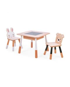 Kids' Forest Table & Chairs Set - Active