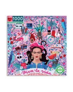 Viva La Vida Frida Kahlo Jigsaw Puzzle - 1000 Pieces