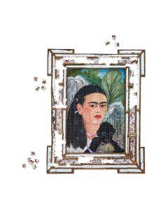Frida Kahlo Shaped Jigsaw Puzzle - 884 Pieces