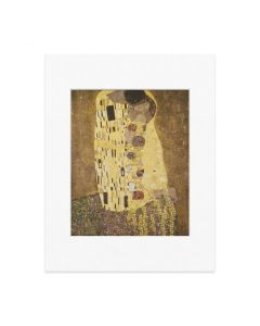 Matted Print Klimt: The Kiss