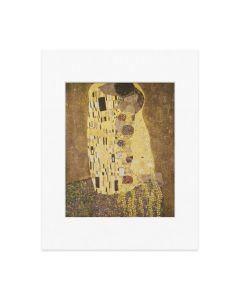 Matted Print Klimt: The Kiss