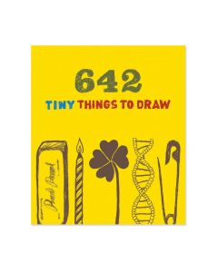 Tiny Things to Draw Activity Book - Paperback