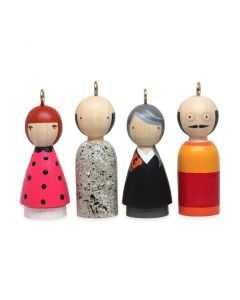 Modern Artists Ornaments Set II