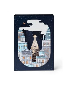 Cityscape Holiday Cards - Set of 8