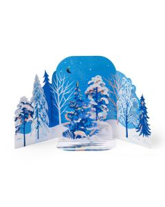 Wintry Forest Holiday Cards - Set of 8