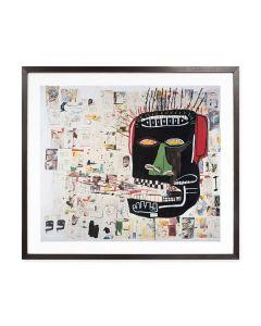 Basquiat: Glenn Framed Print