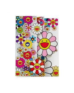 Takashi Murakami Christmas Flowers Holiday Card