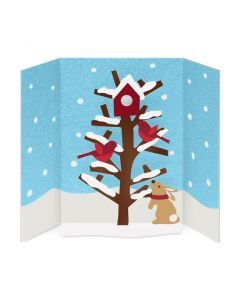 Cheerful Cardinals Holiday Cards - Set of 8