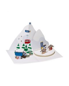 Alpine Village Holiday Cards - Set of 8