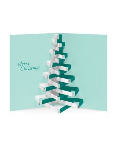 Modern Tree Holiday Cards - Set of 8