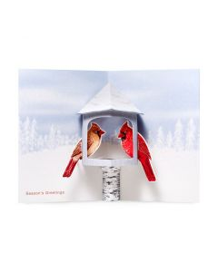 Winter Cardinals Holiday Cards - Set of 8