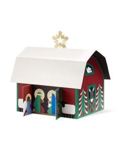 Countryside Nativity Holiday Cards - Set of 8