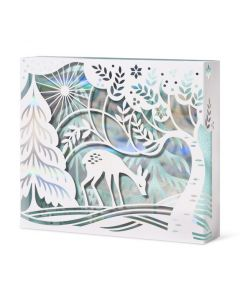 Fawn in the Frost Holiday Cards - Set of 8