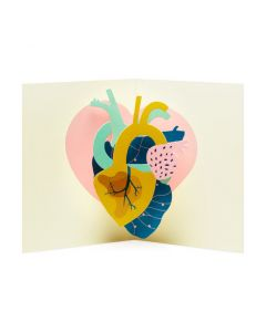 Make My Heart Pound Pop-Up Note Cards - Set of 6