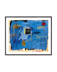 Jean-Michel Basquiat: Untitled 1981 Framed Print