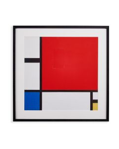 Piet Mondrian: Composition in Red Blue and Yellow Framed Print