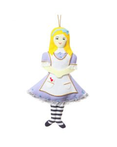 St. Nicolas Alice in Wonderland Holiday Ornament