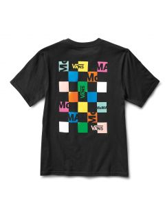 MoMA and Vans Short-Sleeve Womens T-Shirt with Checkerboard Logo