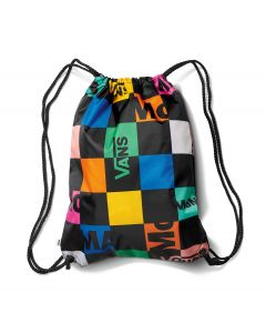 MoMA and Vans Checkerboard Logo Drawstring Backpack