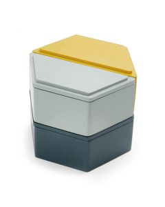 Honeycomb Stacking Jewelry Boxes