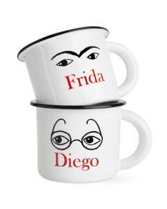 Frida and Diego Mugs