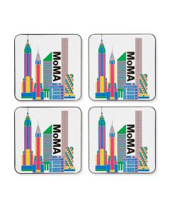 MoMA Skyline Coasters - Set of 4