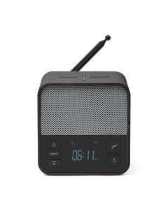 Lexon Oslo News Lite Alarm Clock Radio & Charging Station