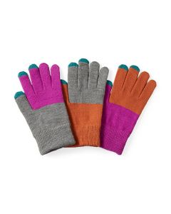 Pair & a Spare Color Block Smart Gloves