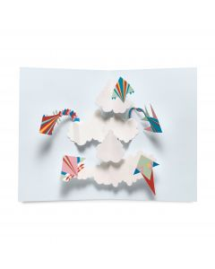 Soaring Kites Pop-Up Note Cards - Set Of 6