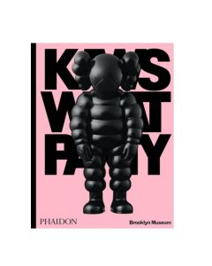 KAWS: WHAT PARTY (Black on Pink edition) - Pre-order