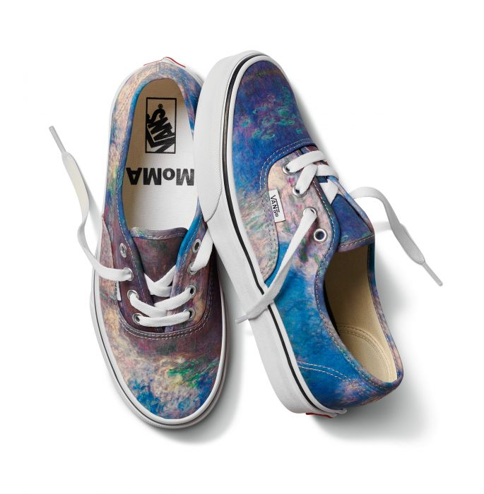Vans Claude Monet Authentic Sneakers